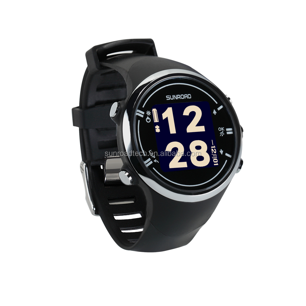 SUNROAD OEM ODM Men Watches Anti-lost Bluetooth Heart rate Monitoring Sports Smart Watch with app