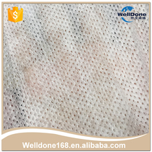 Dotted wholesale perforated nonwoven wipe pink cleaning cloth