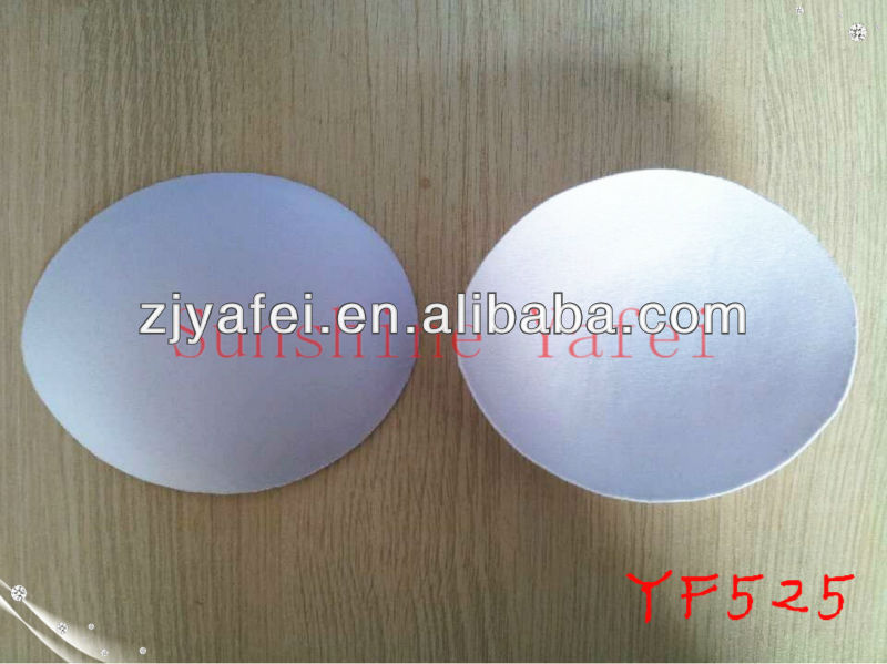 Round swimwear bra cup,evening dress bra pad