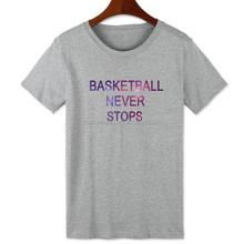 women printing machine t shirt custom baseball sports t shirt
