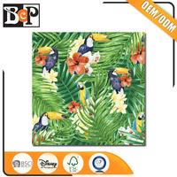 Custom service flowers pattern custom scrapbook paper printing for sale