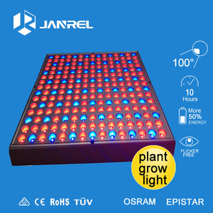 wholesale greenhouse hydroponic 45W 225 leds panel led grow light for plants