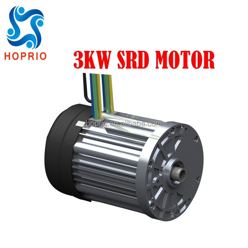 72V 3000W Switched Reluctance Drive Motor SRD motor for electric cars, electric tricyles and boats