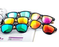 wholesale premium quality mens womens 2017 fashion polarized bamboo sunglasses