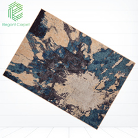 Elegant polyester custom area rugs and printed carpet