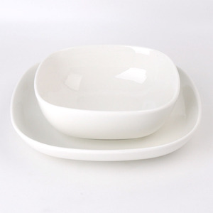 Wholesale Ceramic Porcelain Chinese Hotel Restaurant Tableware Dinnerware Sets
