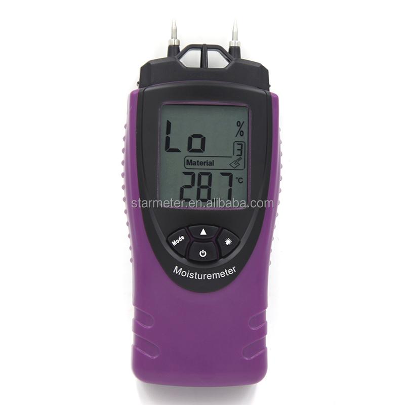 Port til digital de madera medidor de humedad para for Medidor de temperatura y humedad digital