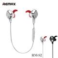 REMAX S2 Wireless Bluetooth 4 1 Magnet Sports Headsets Wireless Sports Earphone kulaklik Stereo earphones For