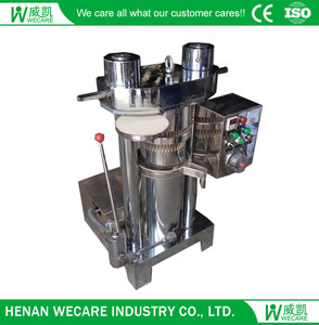 hydraulic canola oil press machine cold press oil mill