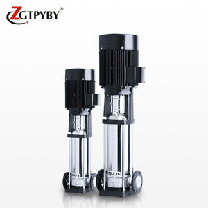 CDLF vertical inline booster pump water supply ac booster jockey pompa multistage