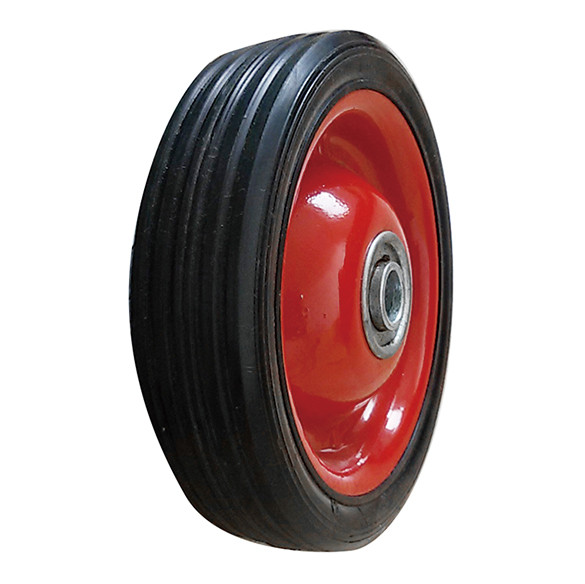 10x2.5 small solid rubber wheels for shipping car