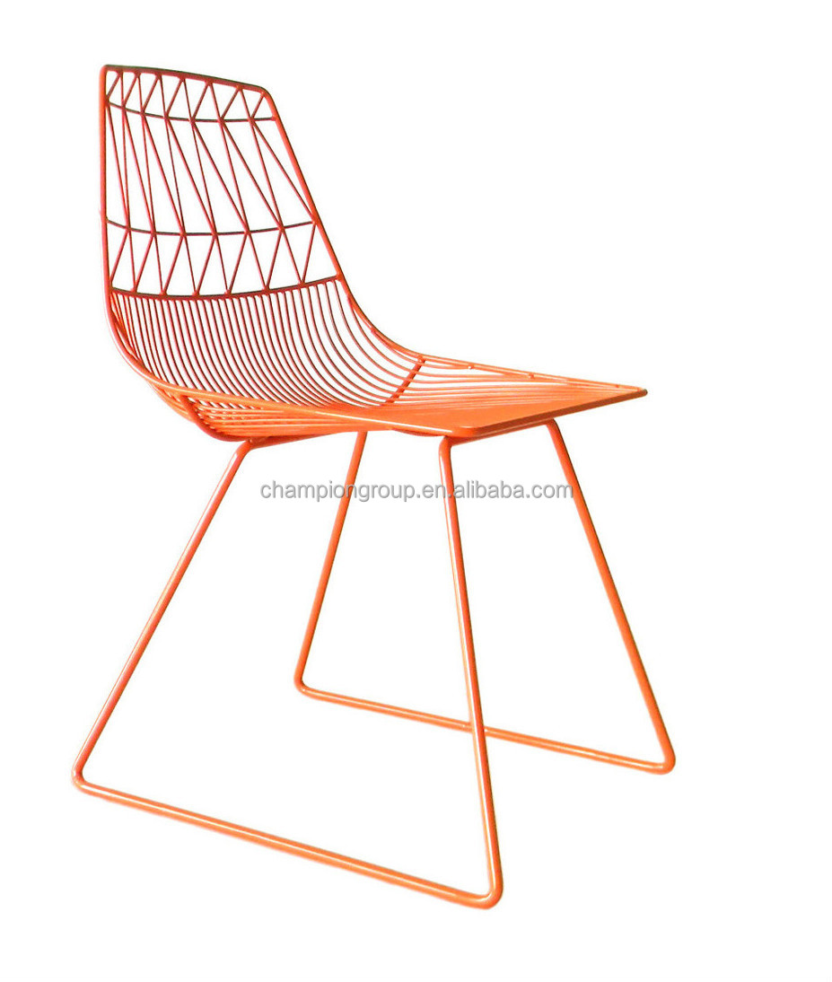 China Steel Wire Chairs Factory, Metal Steel Arrow Chairs Fty