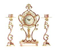 table clock antique reproduction Designer Wall Clocks India