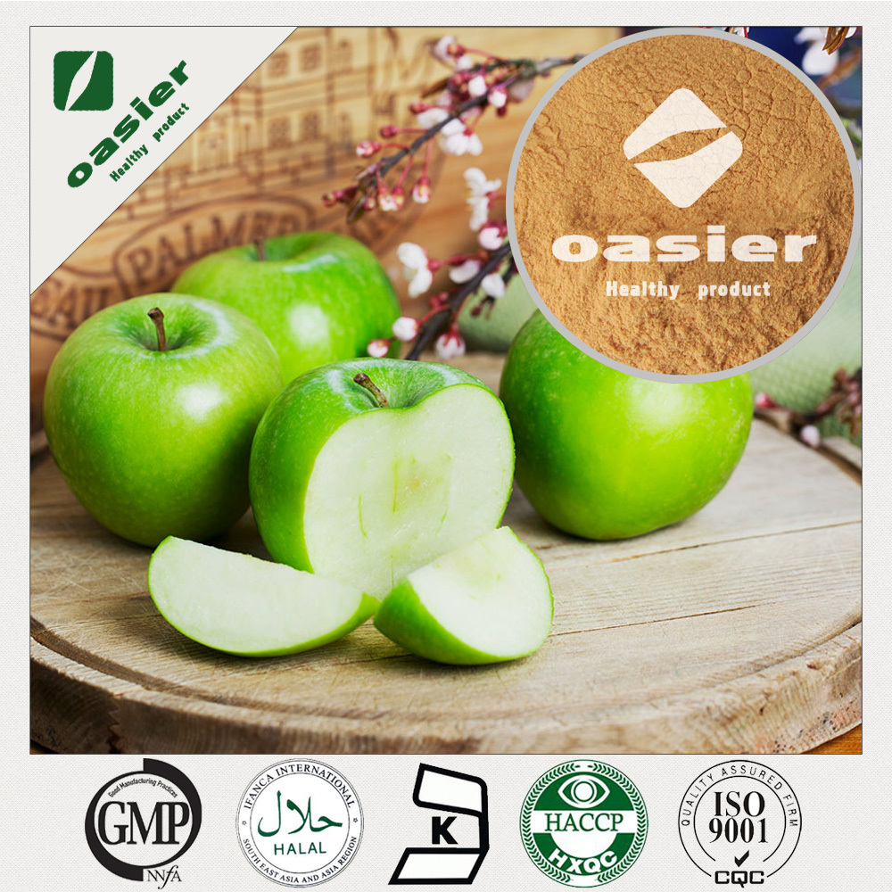 ISO Kosher Certificate UV 100% Natural Phlorizin 95% Apple Root Extract