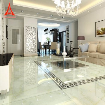 Living Room Morden Design Indoor Ivory Marble Tiles White