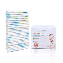 Disposable Changing Pads 25 Extra Large 24 x 18 LeakProof Baby Diaper Travel Foldable Change Mats