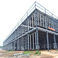 China construction design steel frame structure hotel steel building