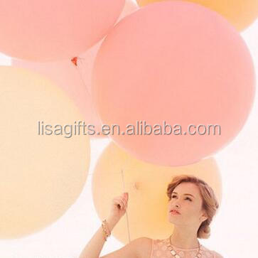 high quality 36inch 90cm Jumbo Balloon Giant Latex Balloons in perfect round shape