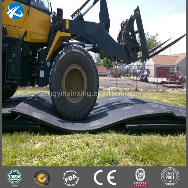 uhmwpe heavy duty truck mats temporary roadways ground protection mats