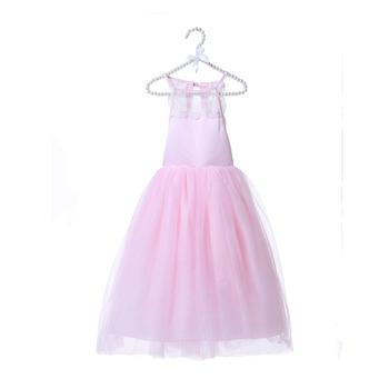 af7c838bcad 2018 Latest Princess Boutique Pageant Wedding Dress Summer Backless Kids  Frock Design Party Flower Girl Dress