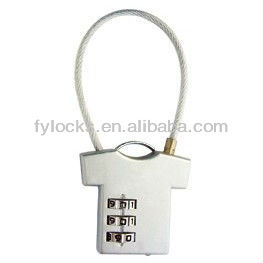 combination padlock lovely padlock silvery color combination locks suitcase locks