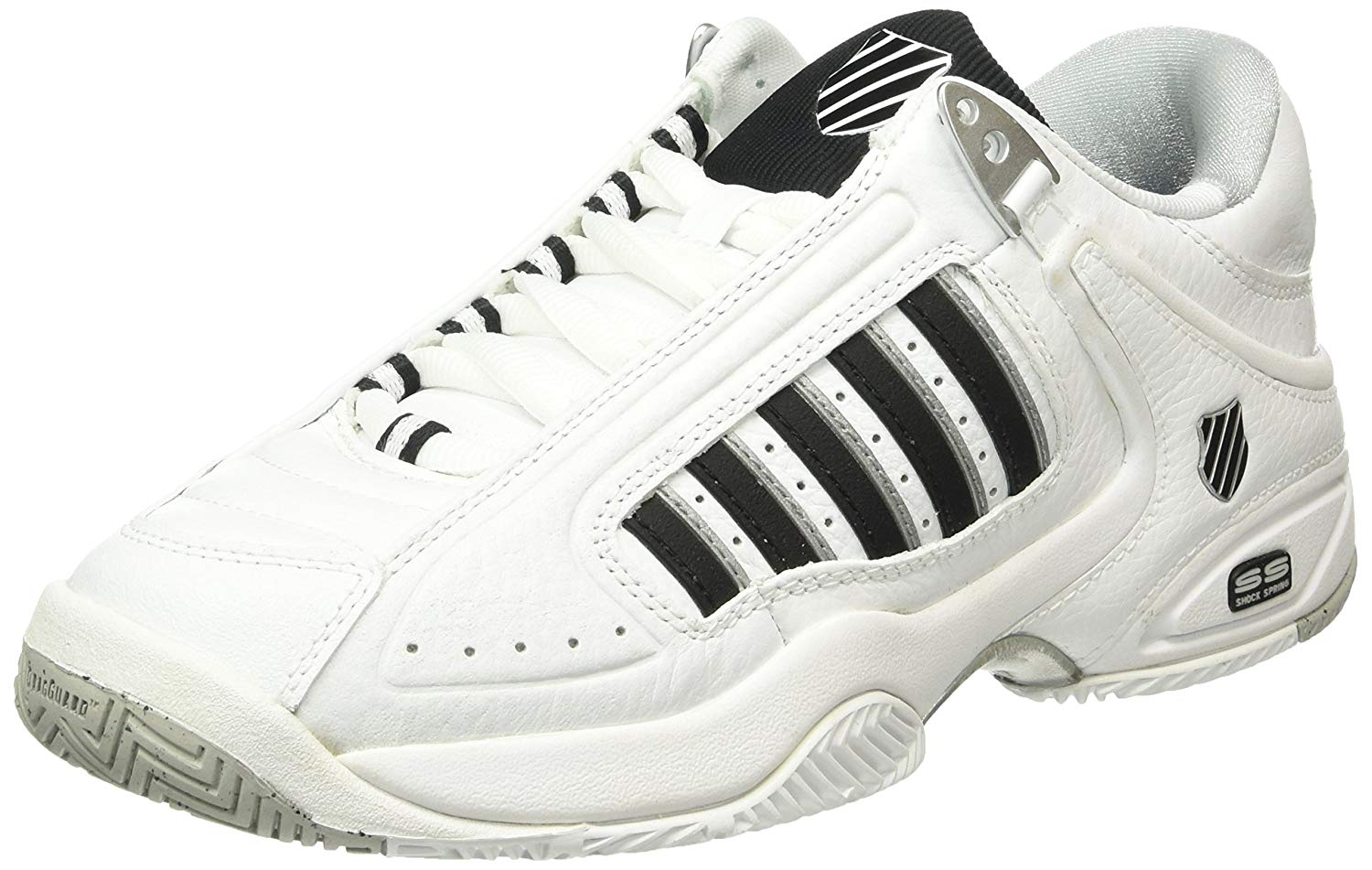 online retailer 11ef5 89861 Get Quotations · K-Swiss Men`s Defier RS Tennis Shoes White-()