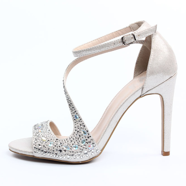 silver sandals heels wwwpixsharkcom images galleries