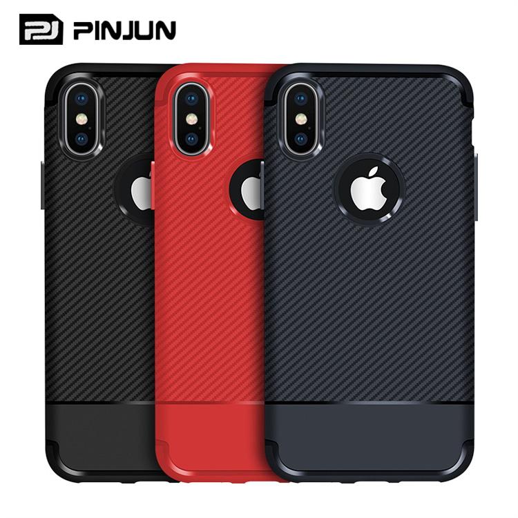 d73ae4d4fa80da Luxury Durable Carbon Fiber Phone Case For iPhone XS Max XR 8 Plus, Soft  TPU Silicone Phone Cover For iPhone XS Case