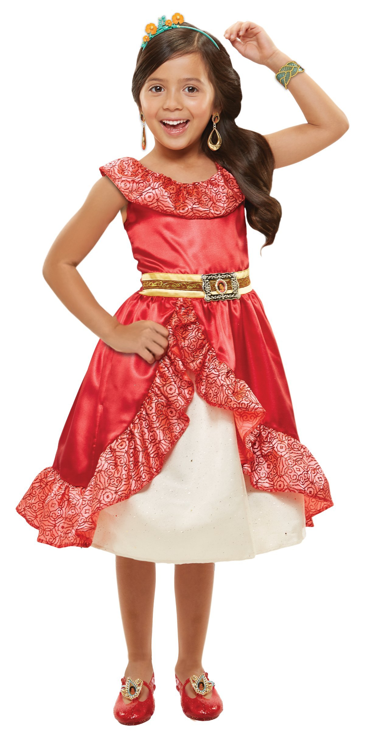 Disney Elena Of Avalor Adventure Dress 4-6x