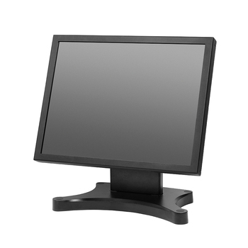Ture Flat 15 Inch Pos Touch Screen Monitor With Metal Stand