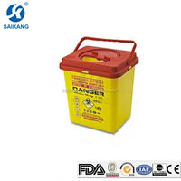CE Certification Economic Round Medical Sharp Container