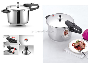 Pressure 18/8 Stainless Steel Cooker For Induction Solar Powered Hot Plate
