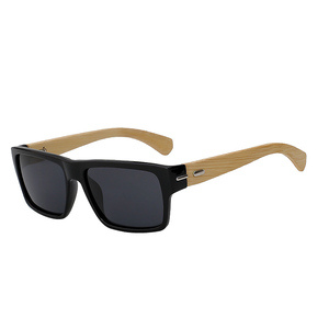 Cheap wholesale glasses wood sunglasses with polarized lens