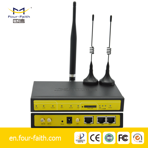 F3436 four-faith industrial wifi 3g router 3g wifi router with sim card slot 3g to wifi PSTN converter