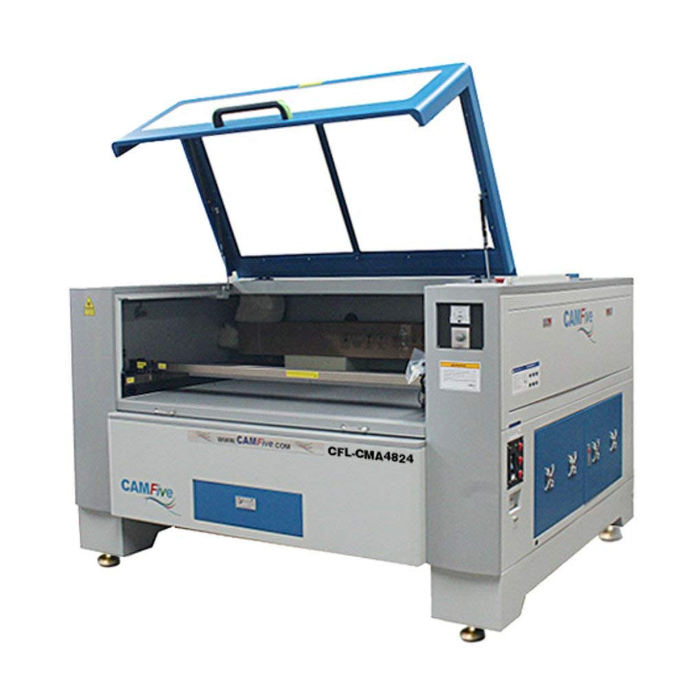 CAMFive Laser 100W CO2 Cutter & Engraver CMA4824 Working Area 48x24 Machine for Cutting and Engraving Wood, Acrylic, Fabric and More