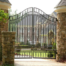 Low price dual channel design stainless fence and gates