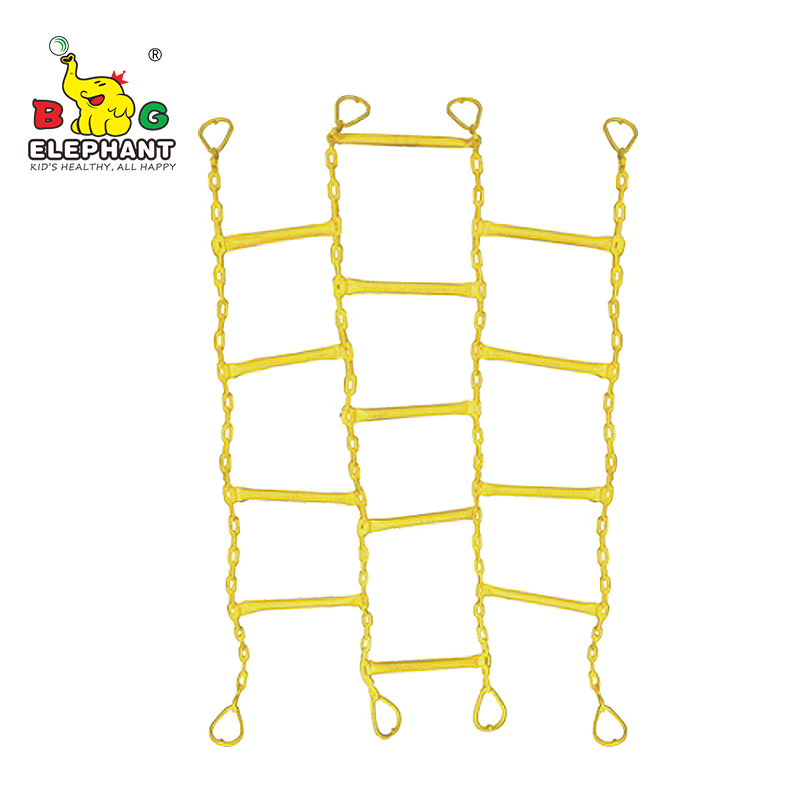 PVC Coated Chain Cargo Net Climbing chain Ladder For Outdoor Playground Equipment