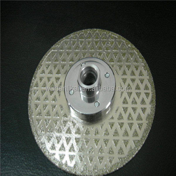 best quality electroplated marble cutting tools abrasive disc cutter
