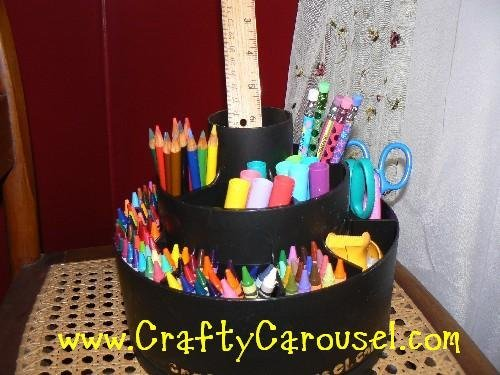 crafty carousel the ultimate children s arts craft organizer buy