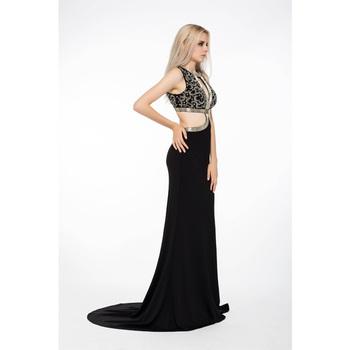 Vestidos de noche de negro