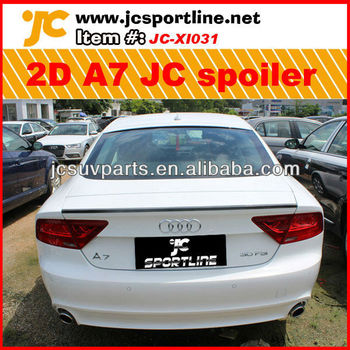 Pu Jc Style Door A Rear Wing Spoiler For Audi A Buy A - 2 door audi a7