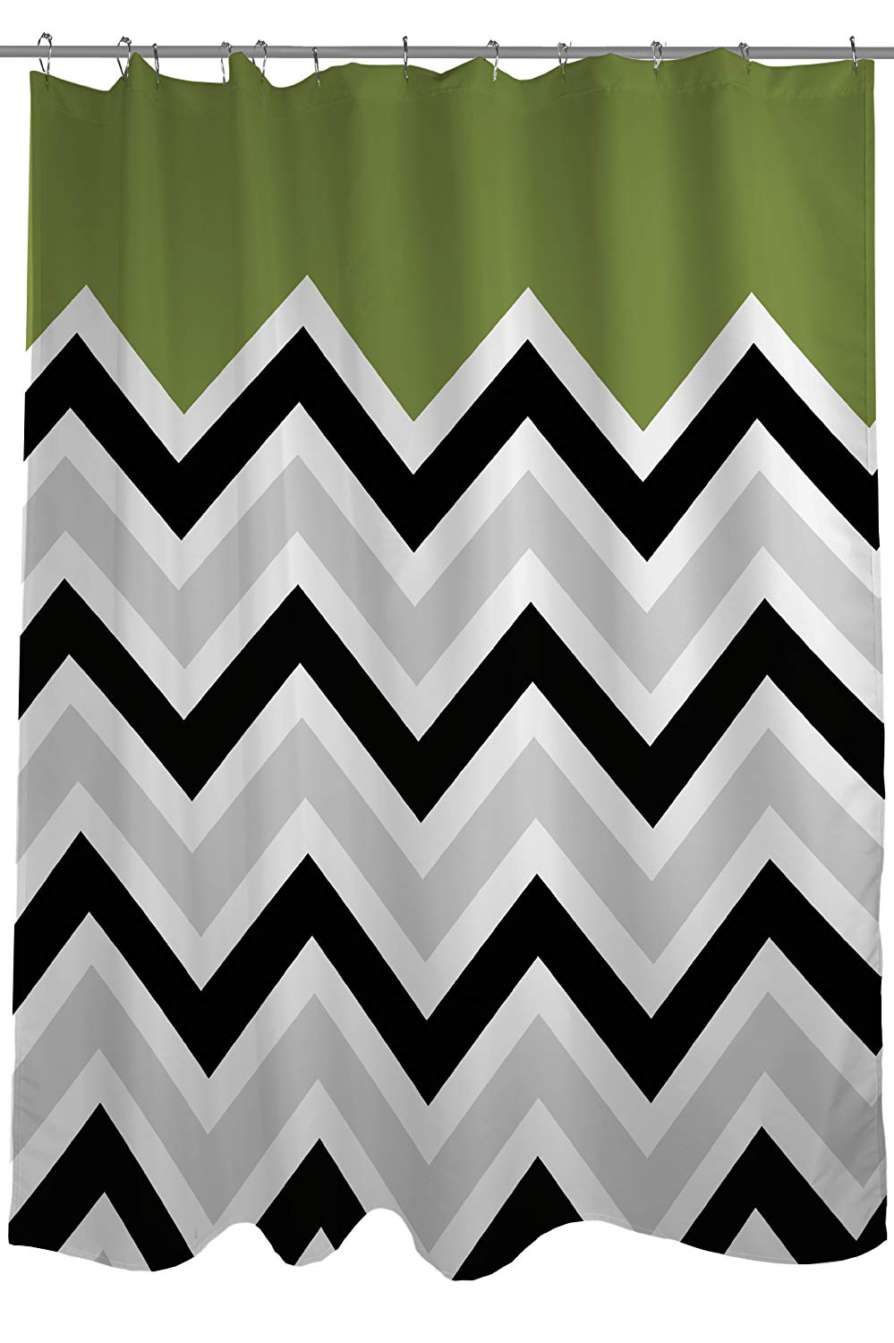 Get Quotations One Bella Casa Chevron Solid Shower Curtain By OBC Standard 71x 77