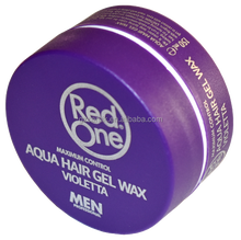 2017 best sell aqua hair wax red one strong hold