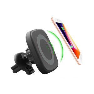 Shenzhen Cheap Qi Wireless Charger Magnetic Car Wireless Charger For Samsung Galaxy