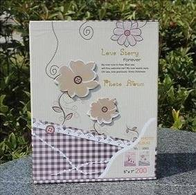 2015 New7 Inch High-grade Children Interleaf Type Photo Album Homemade Creative Gift Flower Scrapbook Wedding Scrapbooking Paper