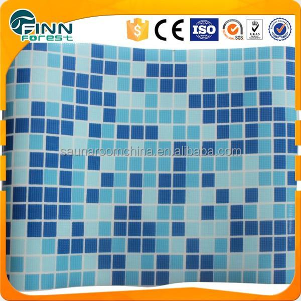 Excelente calidad piscina revestimiento de vinilo mosica for Vinilos para piscinas