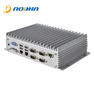 Dual lan and fanless embedded computer with Atom d2550 processor