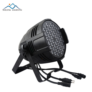 High quality 54x3w LED Par Light Waterproof IP65 outdoor RGBW 60W LED Light Stage