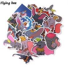 Flyingbee мультфильм аниме стикер s Классический не повторяющийся Граффити стикер s для автомобиля чемодан наклейка для ноутбука DIY стикер игруш...(Китай)