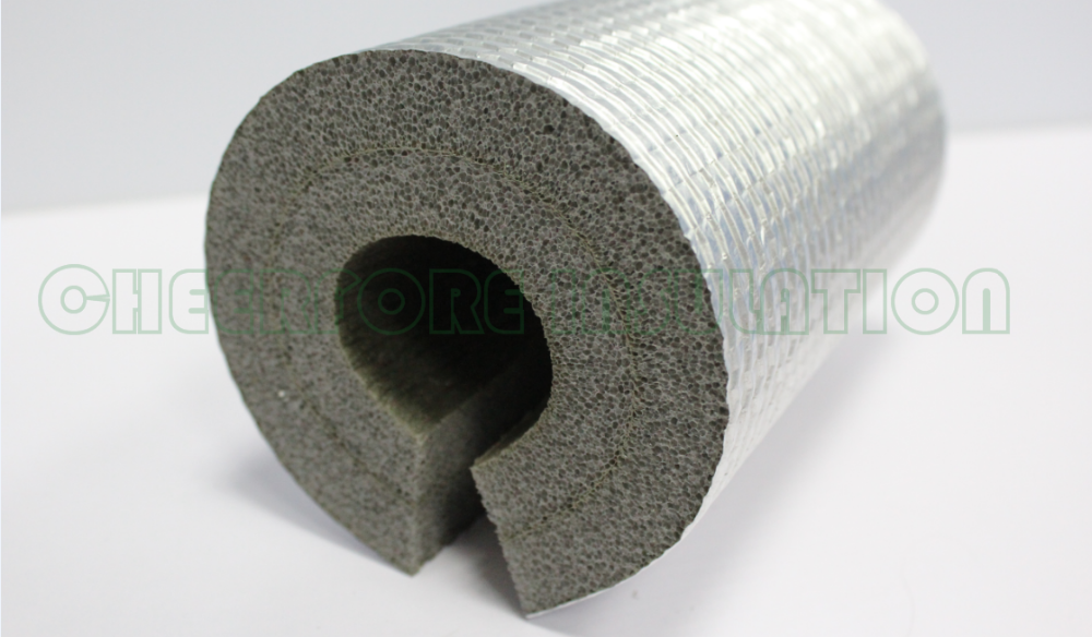Xpe Foam Tube Heat Insulation Tube For Air Duct Hvac